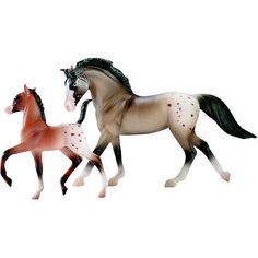"""Breyer Stablemates Horse and Foal Set: Appaloosa l only $5.99 at Toys""""R""""Us."""