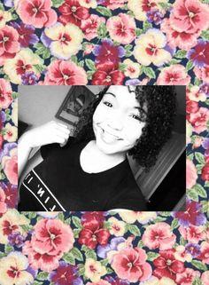 #curly #black #asian #blasian #mixed #smile #killinit #blackandwhite #hair #curls #beauty #makeup #teen