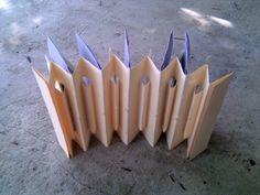 inverted concertina bound book