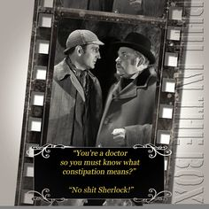 A personal favourite from my Etsy shop https://www.etsy.com/uk/listing/536591938/old-movies-card-sherlock-birthday-card