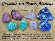Panic Attack Crystals