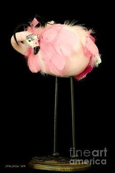 flamingo gourd