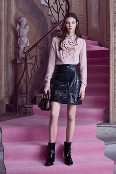 Blumarine Pre-Fall 2016 Fashion Show  http://www.vogue.com/fashion-shows/pre-fall-2016/blumarine/slideshow/collection#5  http://www.theclosetfeminist.ca/