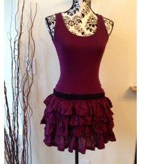 Hi quality Superdry brand Ruffled rib tank dress in rich jewel toned magenta color. Hippie Style, Tank Dress, Summer 2016, Fashion Tips, Fashion Design, Fashion Trends, Cute Dresses, Tie Dye