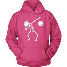 Dabbing Skeleton Tennis Ball Hoodie