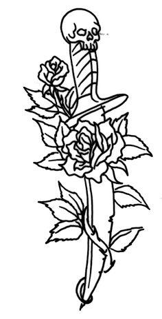 Incredible - Tattoo Dagger