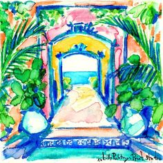 Pathway to paradise #lilly5x5