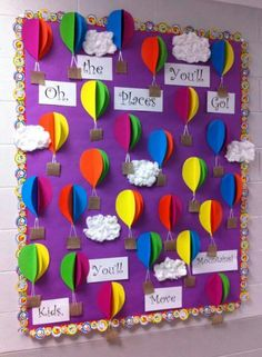 20 Rainbow Bulletin Boards to Brighten Up Your Classroom World Bulletin Board, Birthday Bulletin Boards, Preschool Bulletin Boards, Classroom Bulletin Boards, Preschool Classroom, Multicultural Bulletin Board, Welcome Bulletin Boards, Spring Bulletin Boards, Birthday Board