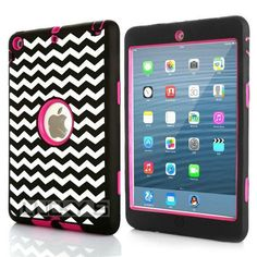 Cute Laser Carving Dot Zebra Wave Combo Tablet Case Cover for iPad mini 1 2 3 Screen Protective Film Stylus Pen Free Shipping