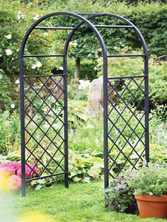 Beau Iron Arch For Garden | York Small Arch A Decorative Arch With Beautiful  Scroll Work The