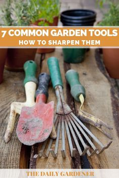 Old Garden Tools, Garden Ideas, Trimming Hedges, Lawn Mower Maintenance, Proper Job, Sharpening Tools, Garden Equipment, Clean And Shiny, Machine Tools