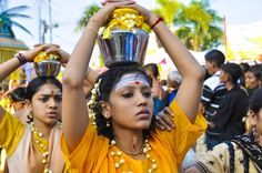 Thaipusam is a Hindu festival and it honors Subrimaya, son of Shiva and an important deity in southern India. Description from dreamstime.com. I searched for this on bing.com/images