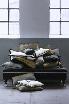 Beautiful DayHome cushions. Bench, Cushions, Storage, Interior, Table, Furniture, Collection, Color, Christmas