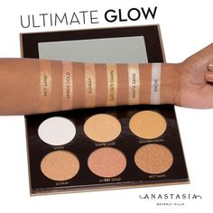 946b19894 Anastasia Beverly Hills Ultimate Glow Kit swatch Medium_500x500  Iluminadores, Labiales, Ropa, Belleza,
