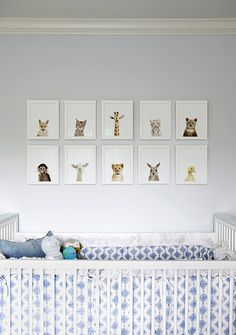The Animal Print Shop- this is what I was thinking except DIY animal drawings instead of buying them