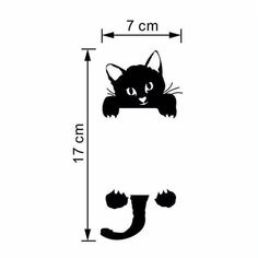 2016 New Cat Wall Stickers Light Switch Decor Decals Art Mural Baby Nursery Room vinilo pegatina pared Smile Removable Wall Stickers, Wall Decor Stickers, Cat Stickers, Funny Cute Cats, Diy Funny, Wall Painting Decor, Diy Wall Decor, Light Switch Art, Kids Room Lighting