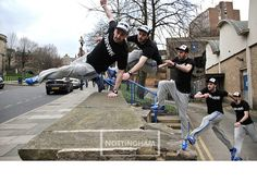 Barnabas Clothing - Look Book with Urban Revolution #parkour
