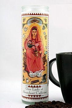 Our Lady of Abundant Caffeine Prayer Candle ** For more information, visit image link.