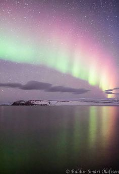 Northern Lights - Isafjordur, Iceland