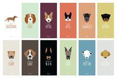 Puppy Love Valentine Card Set by Anne Green Design