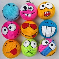 Mesmerizing Crochet an Amigurumi Rabbit Ideas. Lovely Crochet an Amigurumi Rabbit Ideas. Crochet Ball, Crochet Diy, Crochet Amigurumi, Crochet Gifts, Amigurumi Patterns, Crochet For Kids, Knitting Patterns, Crochet Patterns, Crochet Faces