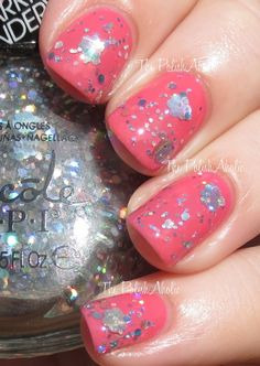 Nicole by OPI Party Bus (over Color Me Country)