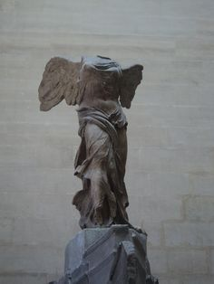 The Winged Victory of Samothrace also the Nike of Samothrace