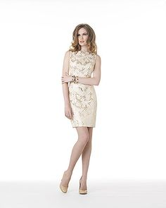 Spiegel Brocade Sheath Dress