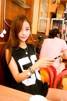 Song Ah Ri ulzzang pretty korean girl selca asian fashion ♥