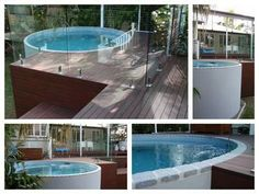 Welcome to Australian Plunge Pools Above Ground Pool, In Ground Pools, Spas, Glass Pool Fencing, Patio Pictures, Backyard Renovations, Pool Decks, Backyard Pools, Outside Room