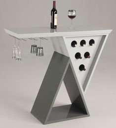 Home Bar Table modern wine racks