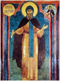 Saint Daniel of Moscow, Great Prince, of Pskov martyred in 1303 St Daniel, Prince Daniel, Vladimir The Great, Becoming A Monk, Grand Prince, Medieval Fashion, Ancient History, Fresco, Art Boards
