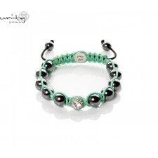 SHINING GREEN Unity, Beaded Bracelets, Green, Jewelry, Fashion, Moda, Jewlery, Jewerly, Fashion Styles
