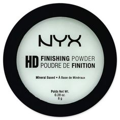 High Definition Mineral Based Finishing Powder in Mint Green