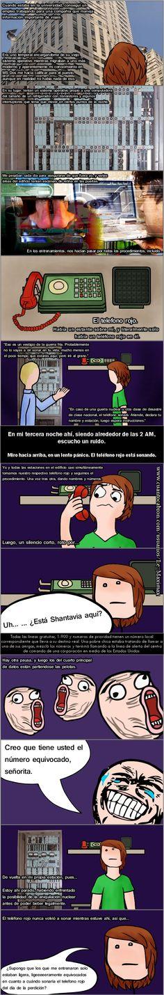 La historia del teléfono rojo        Gracias a http://www.cuantocabron.com/   Si quieres leer la noticia completa visita: http://www.estoy-aburrido.com/la-historia-del-telefono-rojo/