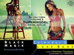 """So, you think you are a supermodel & can pose like that, carry that attitude ? Why don't you join us & get featured ?  IIFW is bringing India's 1st ever Intimate Fashion Calendar & Look Book """" Black Magik """", a perfect combo of calendar, look book & a print media platform for intimate & beach / resort wear fashion. Contact us for Association / Participation : business@iifw.co.in / +918551026503 / +919028076361 #BlackMagik #BlackMagikByIIFW #Calendar #IndiasFirstEver #LookBook #IntimateFashion…"""
