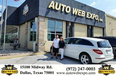 https://flic.kr/p/MMy4HG | Happy Anniversary to Kathryn & Jim on your #Mercedes-Benz #R-Class from George Ondarza at Auto Web Expo Inc! | deliverymaxx.com/DealerReviews.aspx?DealerCode=J789