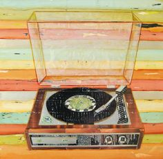 Nice. Love old record players.