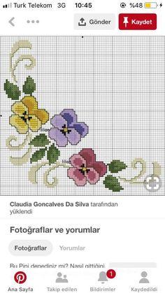 Beaded Cross Stitch, Cross Stitch Rose, Cross Stitch Flowers, Cross Stitch Embroidery, Embroidery Patterns, Cross Stitch Boarders, Cross Stitch Designs, Cross Stitch Patterns, Needlepoint