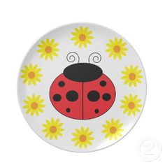 http://rlv.zcache.com/ladybug_and_daisies_plate-r1385d35d77ae4c86b2fec4cce482c4b0_ambb0_8byvr_512.jpg