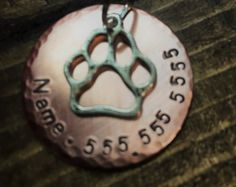 Your Shop - Items Cat Tags, Pet Id Tags, Washer Necklace, Bones, Dragon, Christmas Ornaments, Dog, Pets, Holiday Decor