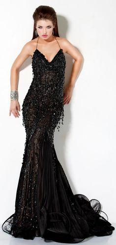 Jovani :: Tear Drop Beaded Evening  Gown http://www.jovani.com/prom-dresses/3111-9576
