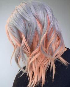 awesome Трендовое цветное окрашивание волос — Какие оттенки лучше выбрать? Check more at https://dnevniq.com/tsvetnoe-okrashivanie-volos/