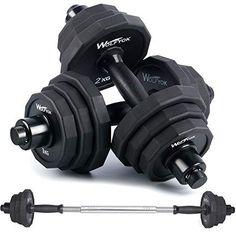 Adjustable Weight Dumbbells, Adjustable Dumbbell Set, Adjustable Weights, Strength Training Equipment, Home Workout Equipment, Fitness Equipment, Gym Workouts, At Home Workouts, Barbell Lifts