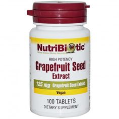 Nutribiotic, Grapefruit Seed Extract, 125mg, 100 Tablets ... VOLUME DISCOUNT