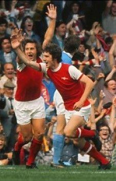 Brian Kidd Arsenal 1974