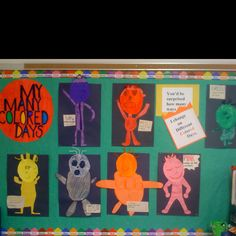 Dr. Seuss My Many Colored Days project