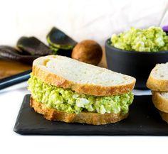 Healthy Avocado Egg Salad recipe - Mayo Free