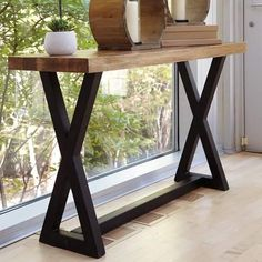 Laurèl Foundry Modern Farmhouse Vivier Console Table