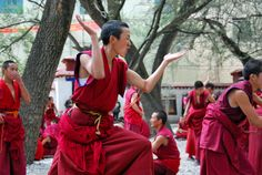Monks @ Sera Monastery Lhasa Tibet